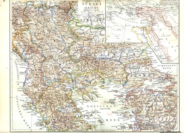 Europäische Türkei und Albanien / Europska Turska i Albanija