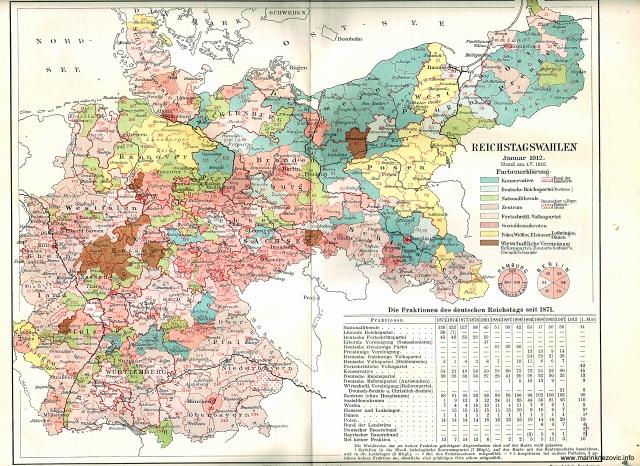 Reichstagswhalen, Januar 1912. / Izbori za Reichstag iz siječnja 1912.