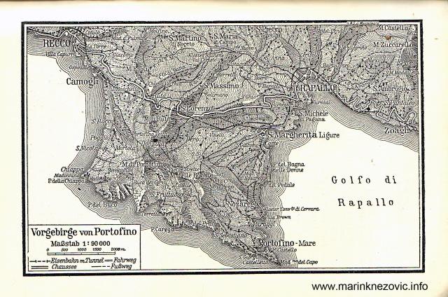 Vorgebirge von Portofino / Poluotok Portofino