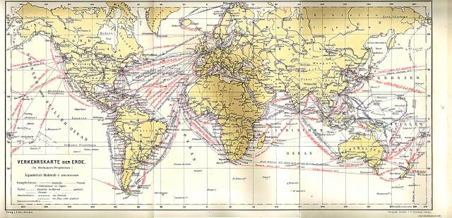 Karta prometnih veza