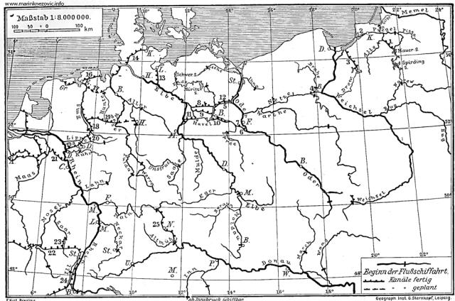 Rijeke i kanali srednje Europe