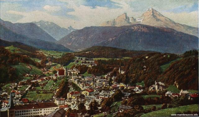 Bertechsgaden / Bertechsgaden in den Salzburger Alpen
