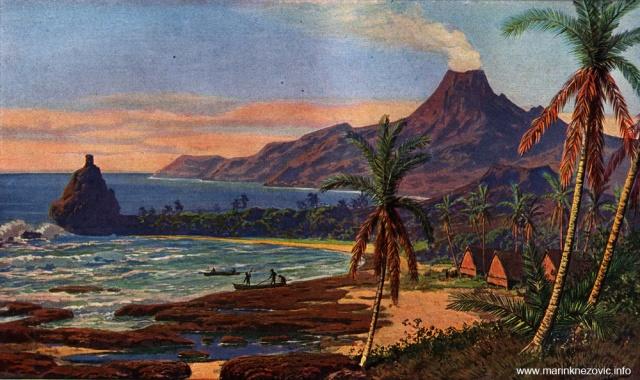 Otok Bagan u sjevernom dijelu Marijanskog otočja / Insel Bagan in nördlichen Gruppe der Marianen