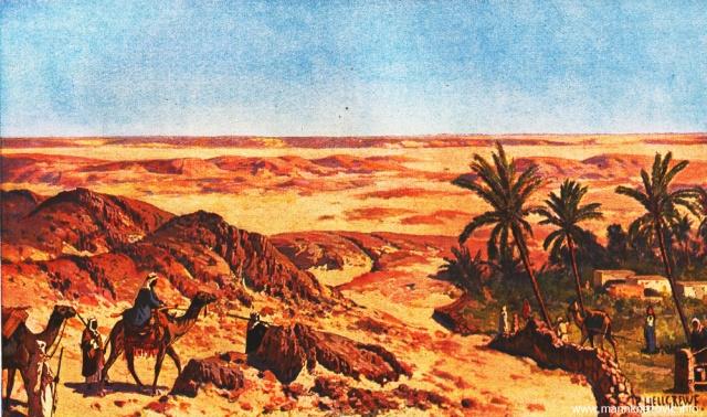 Izvori u Sahari južno od Alžira / Brunnen in Sahara südlich von Algerien