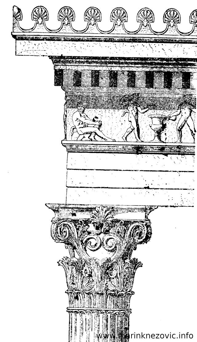 Glavica korintskog stupa