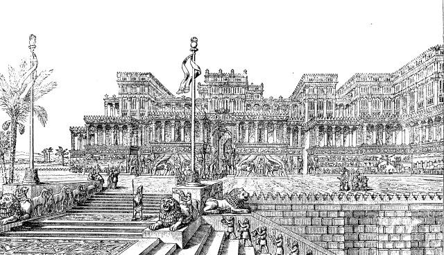 Rekonstrukcija palače aisrskog vladara Senaheriba