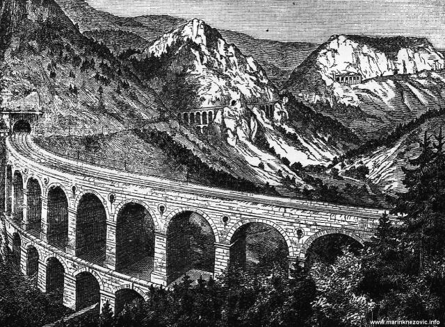 Željeznički vijadukt na Semmeringu