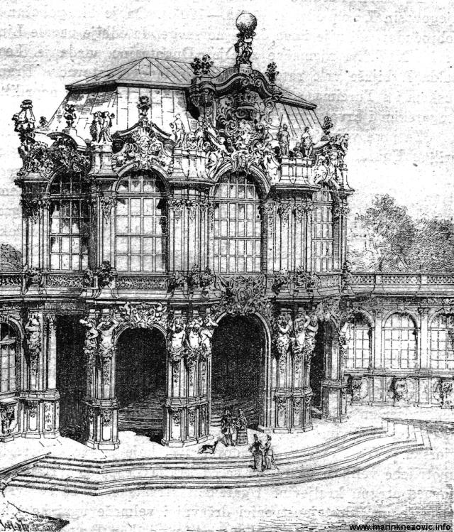 Paviljon Zwinger, Dresden